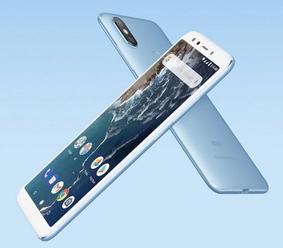 Xiaomi представила смартфон MiA2 начистом андроид