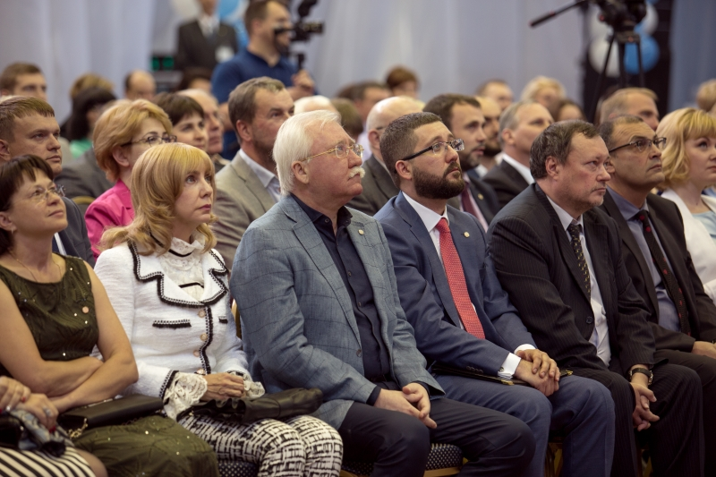На конференции руководящего состава холдинга «Социум» были подведены итоги работы за предыдущий период – 2017 год