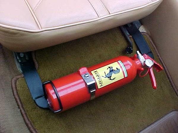 какой огнетушитель должен быть в машине