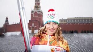 Sochi-2014 torchbearer
