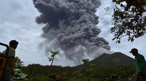 Sumatra volcano