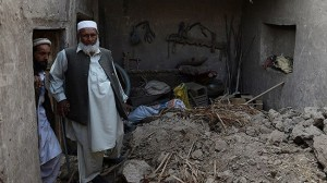 the earthquake in Pakistan