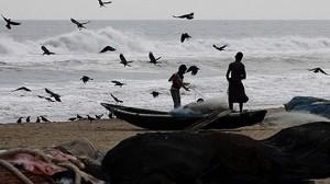 Hurricane in India