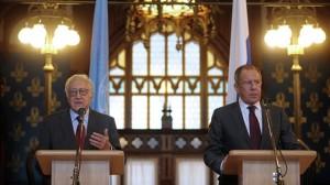 Lavrov and Brahimi