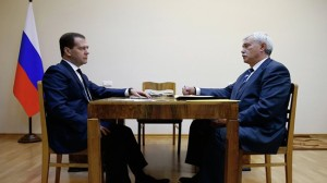 Medvedev will support economic projects Petersburg