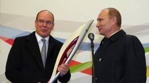 Putin Albert II