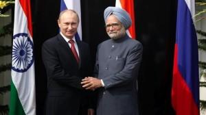Putin Manmohan Singh