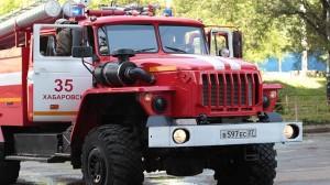 fire in Khabarovsk colony