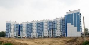 new microdistrict in Krasnoyarsk