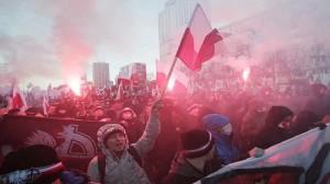 Polish hooligans