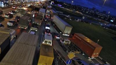 В 2015 году запретят въезд на МКАД грузовикам класса ниже «Евро-2»