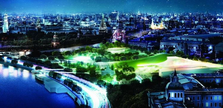 К 870-летию Москвы в центре столицы откроют уникальный парк «Зарядье»