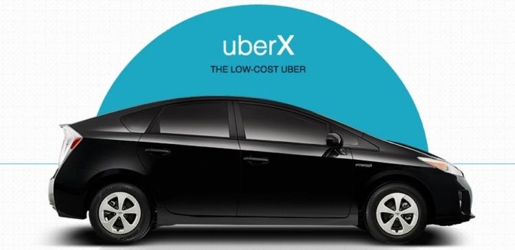 В Москве начнет действовать сервис Uber для заказа такси эконом-класса