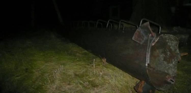 В Красноярском крае ураганный ветер обрушил трубу котельной