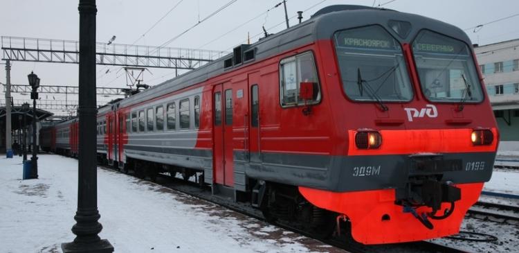 В Красноярске запустят новую электричку из центра в Северный