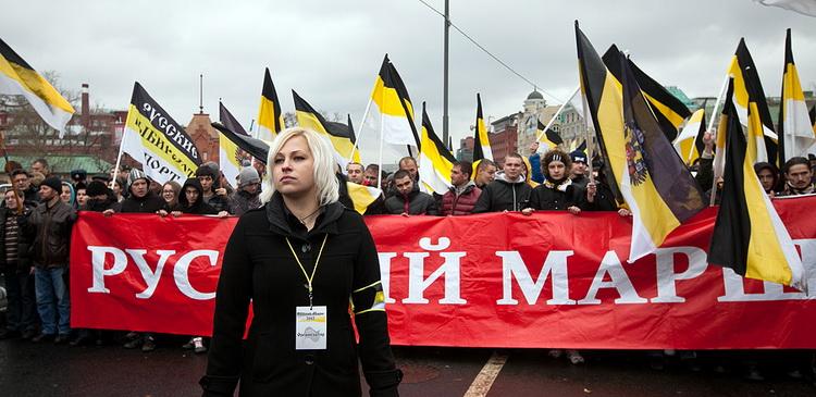 В мэрию Москвы поступила заявка на проведение «Русского марша»