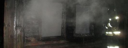В Нижегородской области на пожаре погиб пьяный курильщик