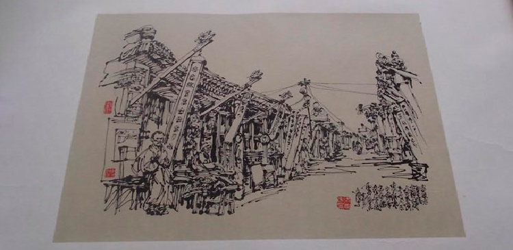 Житель Иркутска пытался вывезти из КНР 32 старинные картины