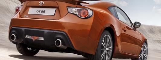 Спорткар GT 86 будет представлен в новых комплектациях Primo и Aero