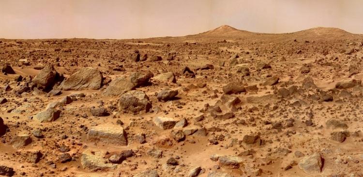 Ученые нашли доказательства существования водоемов на Марсе