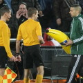 Фанаты «Фейеноорда» бросили банан в игрока «Ромы» Жервиньо
