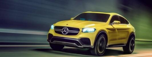 Mercedes-Benz представила новый автомобиль GLC Coupe Concept