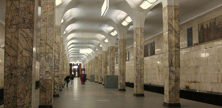 В столичном метро на замоскворецкой