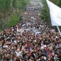 В Ереване митингующие намерены протестовать до победного конца