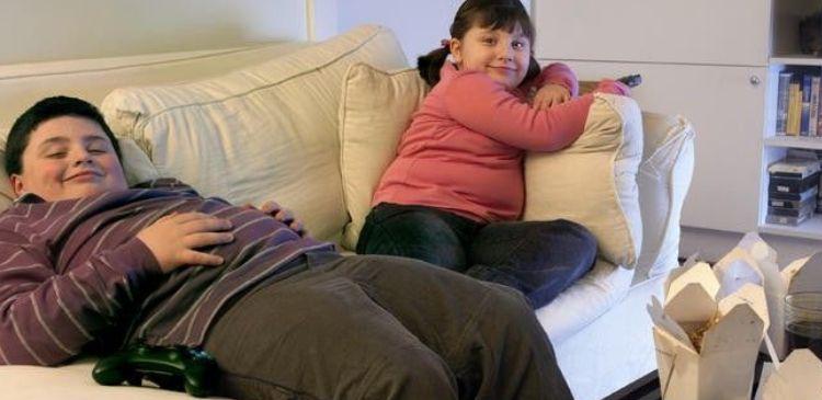 ожирение дети