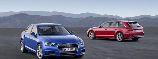 Audi представила седан и универсал A4 нового поколения
