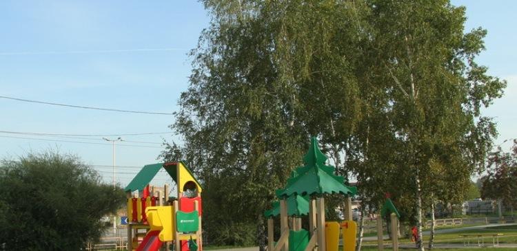 Новосибирск детская площадка