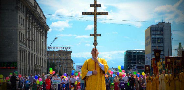 Новосибирск крестный ход