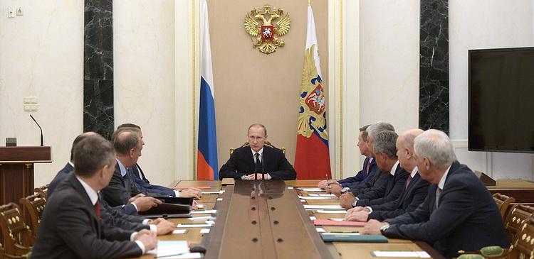 Совбез РФ Путин