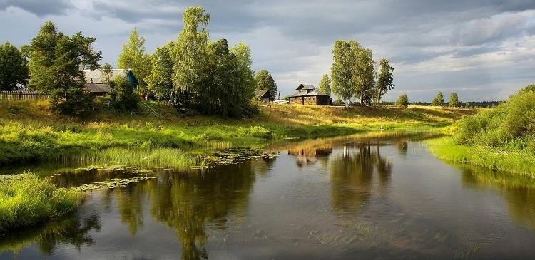 благоустроенное село