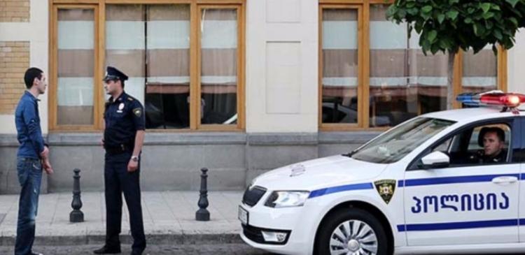 грузия полиция