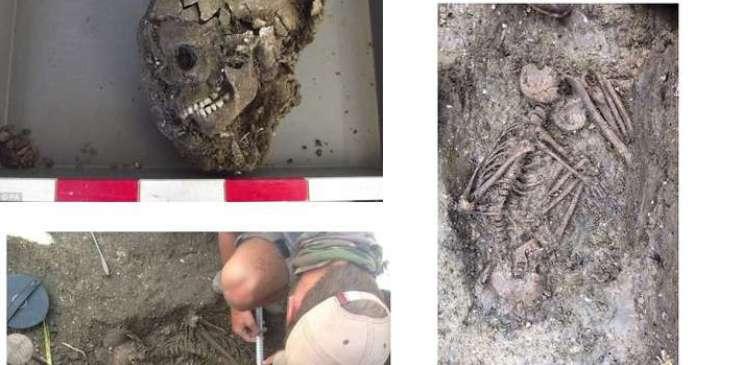 скелет ребенка Стоунхендж