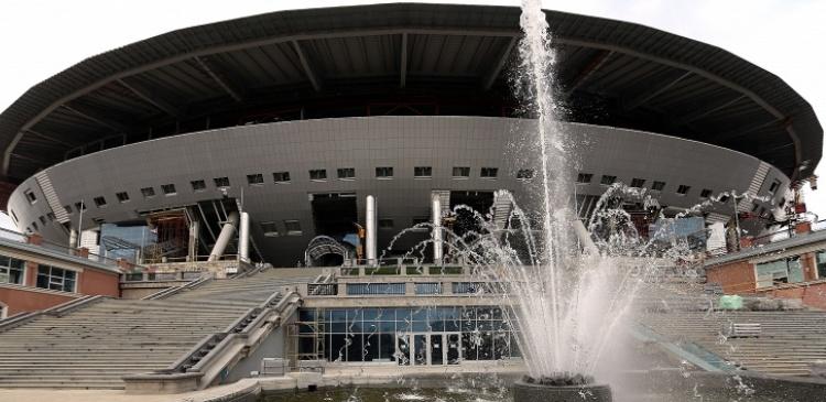 строительство стадиона зенита