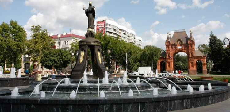 фонтан Краснодар